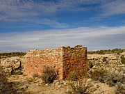 Hovenweep's Twin Towers Print by Feva  Fotos