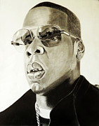 Jay Z Drawings - Hovi by Saheed Fawehinmi
