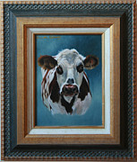 Lucinda Coldrey - How now Normandy cow