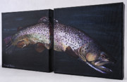 Brown Trout Originals - How Now by Taunya Bruns