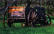 Old Wagon Prints - How The West Was Won Print by Terril Heilman