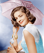 Lauren Bacall Framed Prints - How To Marry A Millionaire, Lauren Framed Print by Everett