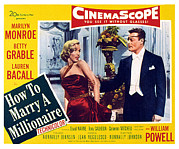 Films By Jean Negulesco Framed Prints - How To Marry A Millionaire, Marilyn Framed Print by Everett