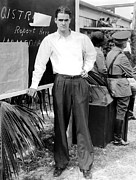 Full-length Portrait Prints - Howard Hughes, 1935 Print by Everett