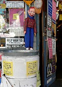 Howdy Doody Prints - Howdy Doody in Virginia City Print by Lori Seaman