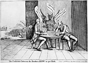 Howe Prints - Howe Brothers Cartoon, 1776 Print by Granger