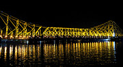 Durga Puja Photos - Howrah Bridge by Tejender Mohan