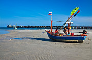 Huahin Photos - Hua Hin Fish Pier by Chayathon Wonganuchitmetha