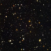 Science Photo Library Art - Hubble Ultra Deep Field Galaxies by Nasaesastscis.beckwith, Hudf Team