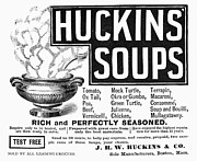 Soup Framed Prints - Huckins Soup, 1890 Framed Print by Granger