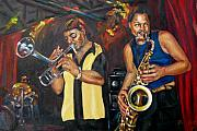 New Orleans Oil Painting Originals - Hud N Lew by Beverly Boulet