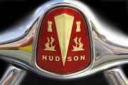 Badge Framed Prints - Hudson Grill Ornament  Framed Print by Mike McGlothlen