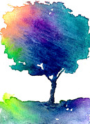 Pride Paintings - Hue Tree III by Brazen Edwards-Hager
