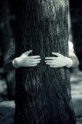 Gloves Metal Prints - Hug Metal Print by Joana Kruse