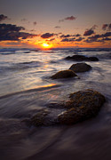 Hug Metal Prints - Hug Point Tides Metal Print by Mike  Dawson