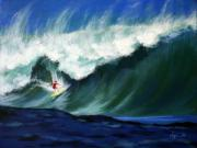 Haleiwa Paintings - Huge by Angela Treat Lyon