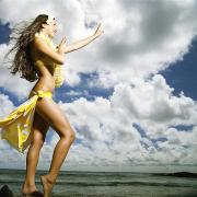 Strobe Art - Hula on Kauai by Kicka Witte - Printscapes