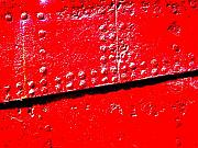 Rivets Art - Hull Plate Abstract Enhanced by Ben Freeman