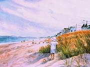 Nantasket Beach Prints - Hulls Splendor Print by Laura Lee Zanghetti