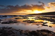 Best Sellers - Hulope Bay - Sunset by Quincy Dein - Printscapes