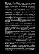 Beautiful Words Posters - Human condition Poster by Gabriela Insuratelu