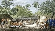 Human Sacrifice In Tahiti, Artwork Print by Sheila Terry