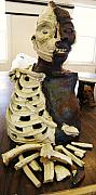 Broken Ceramics - Human Skeleton 1 of 2 by Megan Brandl