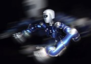 Future Tech Prints - Humanoid Robot, Artwork Print by Detlev Van Ravenswaay