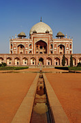 World Series Prints - Humayuns Tomb Print by Adam Jones