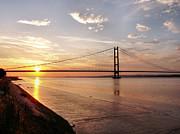 Sarah Couzens - Humber Bridge Sunset