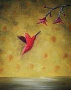 Edwin Alverio Prints - Hummingbird Print by Edwin Alverio