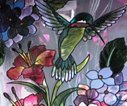 Judyann Matthews - Hummingbird Glass Art