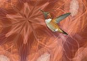 Hummingbird Portal Print by Gregory Scott