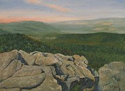 Mountaintop Paintings - Humpback Rocks by Barbara Ryan