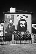 Irish Artists Framed Prints - Hunger Strike Mural Derry Bogside Framed Print by Joe Fox