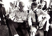 Author Metal Prints - Hunter S. Thompson And George Mcgovern Metal Print by Everett