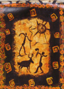 Cave Paintings - Hunters by Shelley Bain