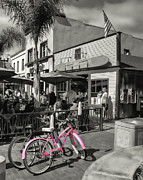 Huntington Beach Longboard Restaurant And Pub Print by Rich Beer