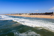 Southern Buildings Posters - Huntington Beach Orange County California Poster by Paul Velgos