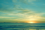 California Coast Prints - Huntington Beach Print by Viktor Savchenko