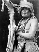 Ceremonial Prints - HUPA DANCER, c1923 Print by Granger