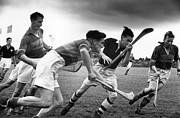 Hurling Prints - Hurling Match Print by John Chillingworth