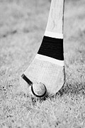 Hurling Posters - Hurling Stick And Ball Poster by Joe Fox