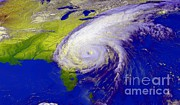 Noaa Prints - Hurricane Floyd Print by NASA / Goddard Space Flight Center