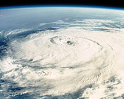 Tropical Photographs Photos - Hurricane From Space by NASA / Science Source