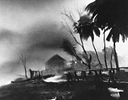 Conditions Framed Prints - Hurricane in the Caribbean Framed Print by Fritz Henle and Photo Researchers