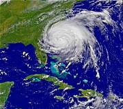 Padre Art - Hurricane Irene Near Florida