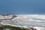 Beach Scenes Photo Originals - Hurricane Isadore by JOSEPH Sekora