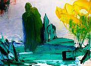 Embracing Painting Originals - HURRICANE KATRINA  After by Bruce Combs - REACH BEYOND
