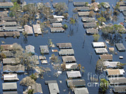 Noaa Prints - Hurricane Katrina Damage Print by Science Source